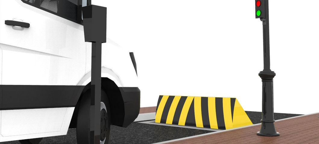 Crash Barrier Road Highway Metal Beam Crash Barrier