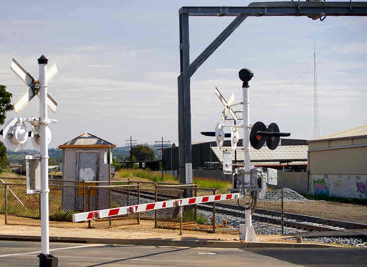 Upgrade Railway Crossing Safety Using Boom Barrier