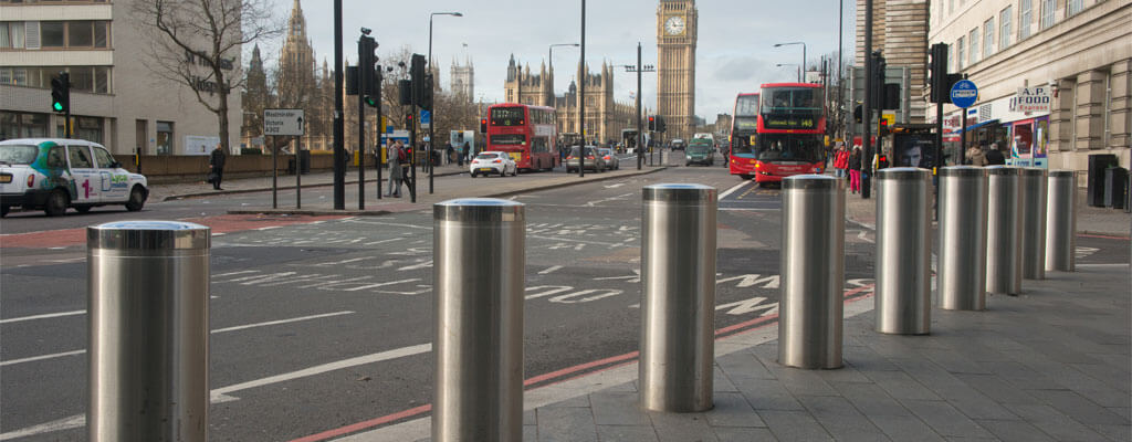 Bollards Can Help To Stop Speeding Drivers Hitting Bike