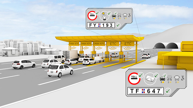 gateless electronic toll collection using rfid
